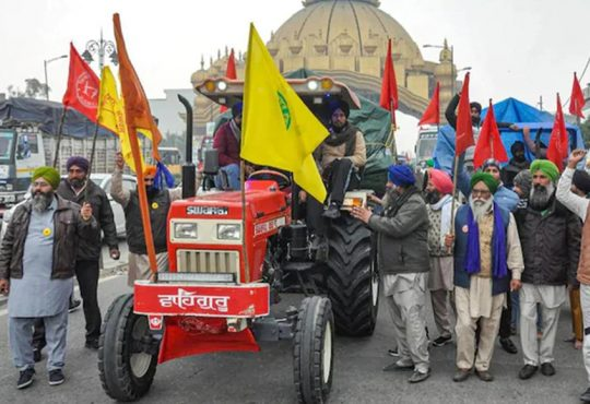 protest against farm laws