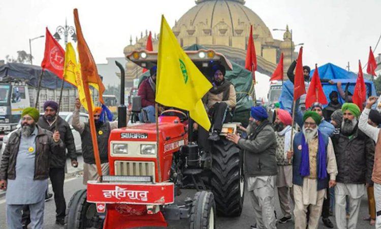 protest against farm laws