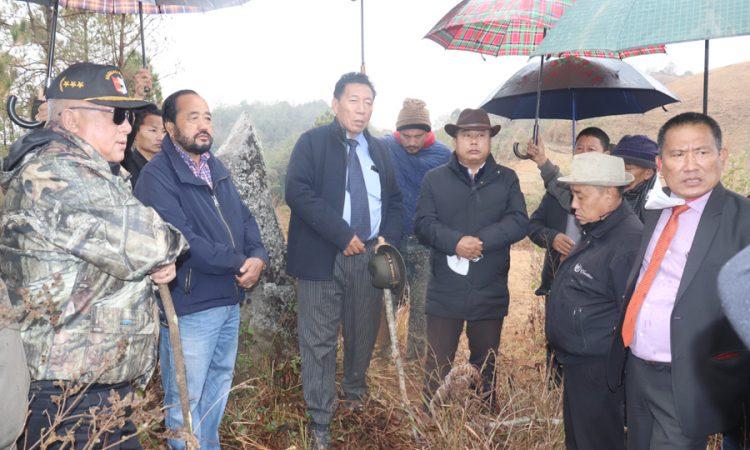Patton visits Nagaland-Manipur border