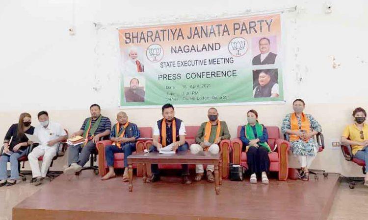 BJP prs conf