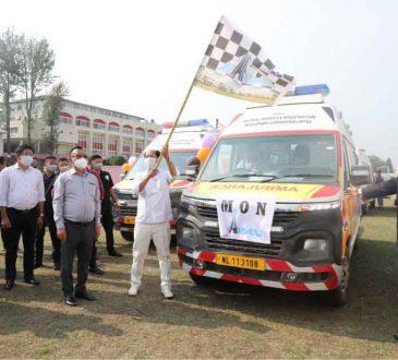 CM flags off ambulances