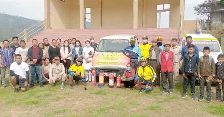 Cyclothon reachs wokha copy