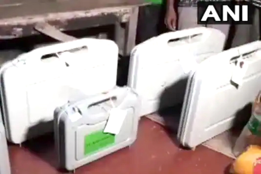 EVM and VVPAT machines