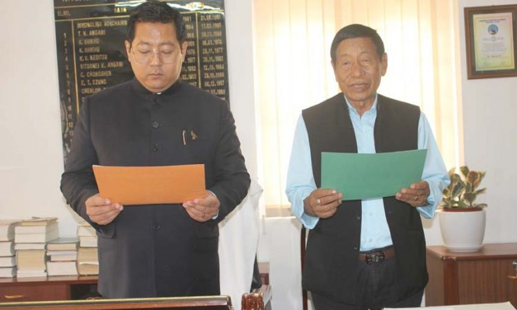 H. Chuba Chang Oath of office