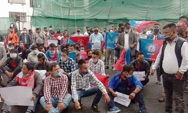 ILP protest
