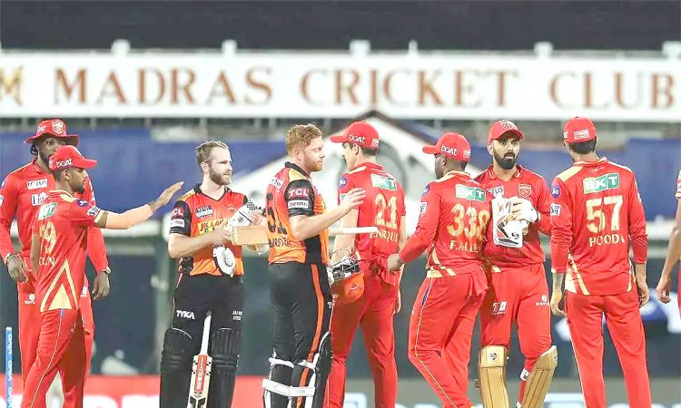 IPL 2021 SRH vs PBKS