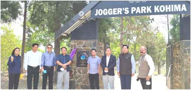 Nagaland assemble joggers
