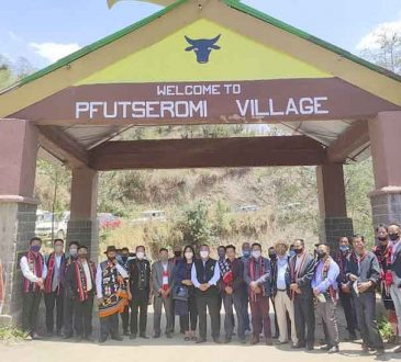 Neiba Kronu inaugurates Pfutseromi village approach road