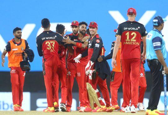 SRH vs RCB IPL 2021