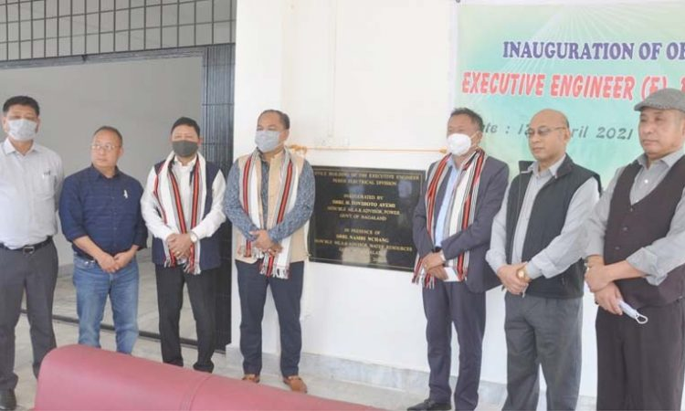 Tovihoto inaugurated Power Office at Peren