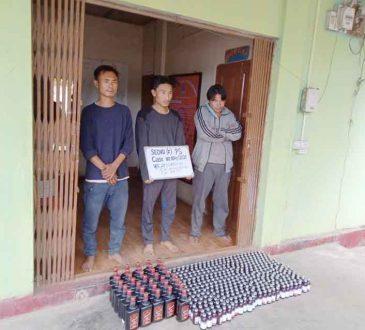 3 arrested in Kohima