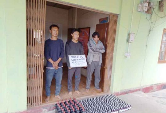 3 arrested in Kohima