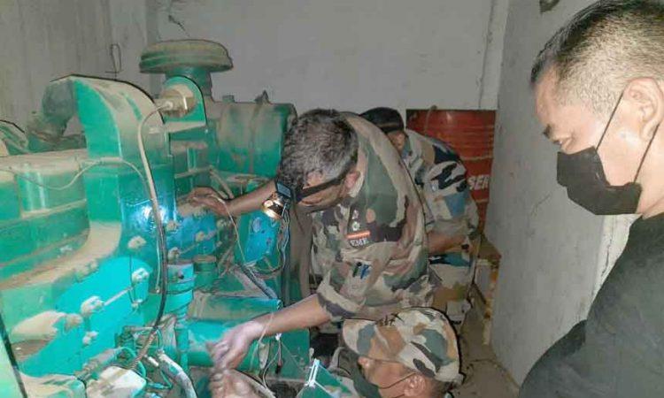 Army oxygen generator