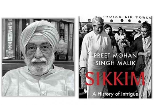 Book on Sikkim