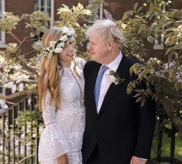 Boris Johnson marries