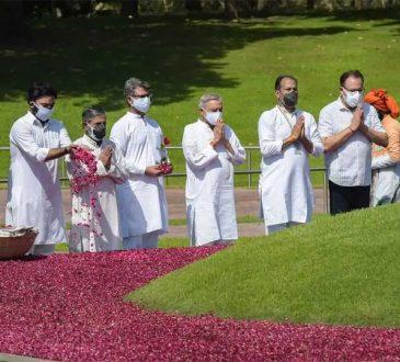 Cong paying tribute to Nehru
