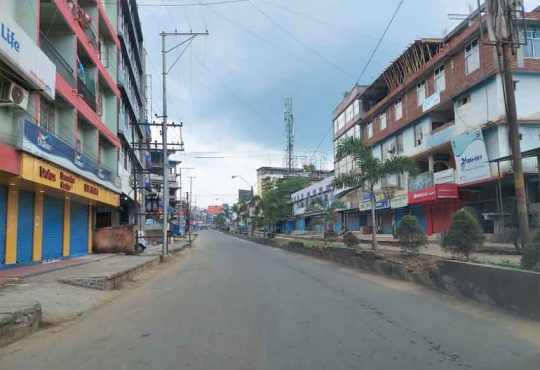 Dimapur lockdown