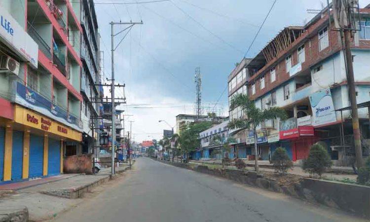 Dimapur lockdown