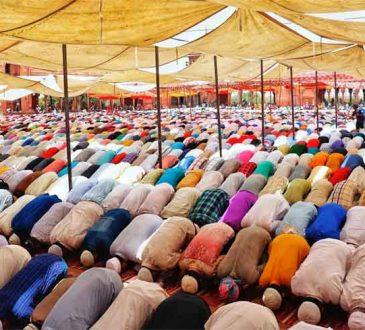 Eid mass prayers