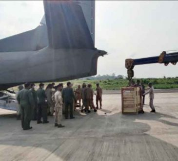 IAF airlifts oxygen