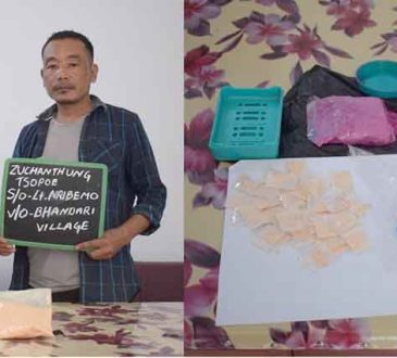 Illegal drugs seized at Wokha