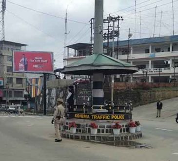 Kohima lockdown