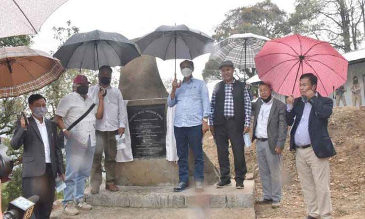 Mithun Bull Mother Farm inauguration
