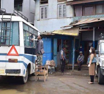 Ramdon testing at Wokha