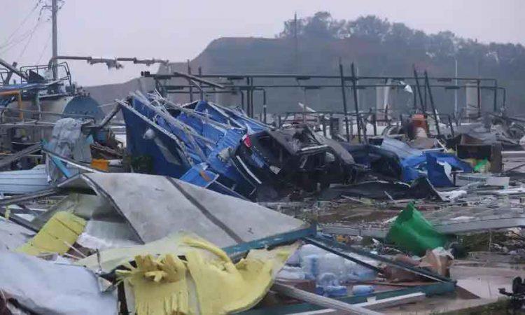 Tornado China