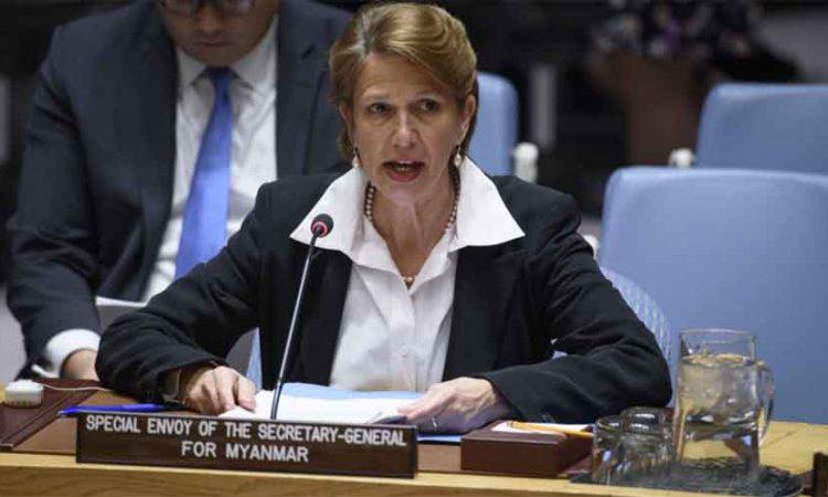 UN Envoy to Myanmar