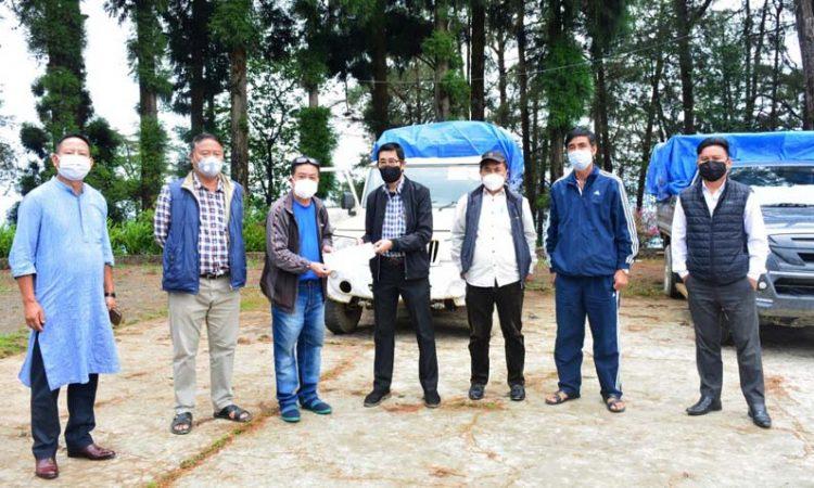 YeS Society donates consignment of COVID 19 to Zunheboto