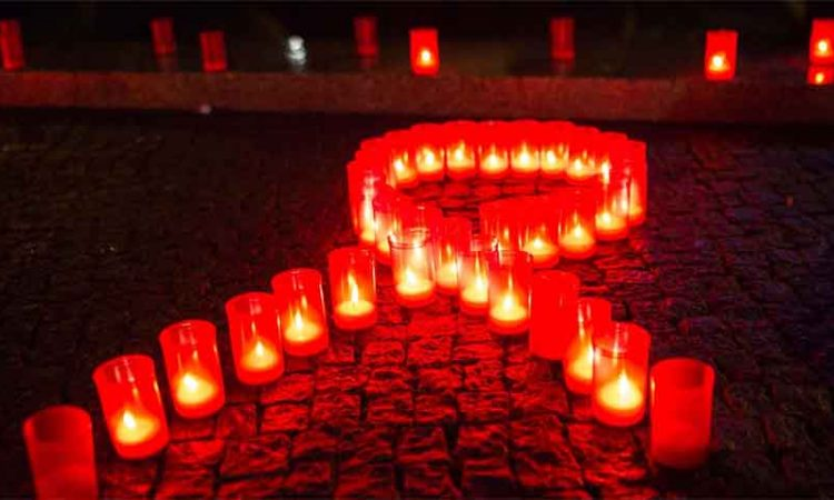 aids candle light