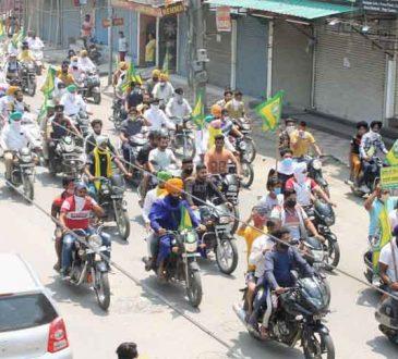 farmers protest lockdown