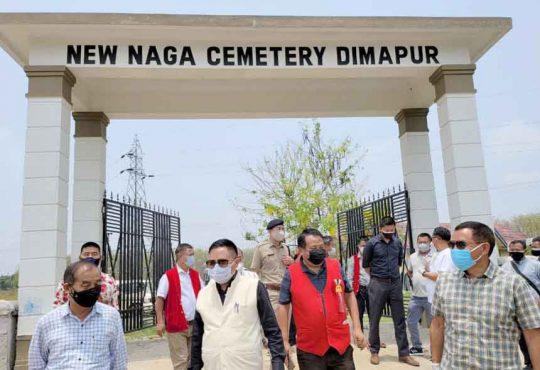kikheto naga cemetery