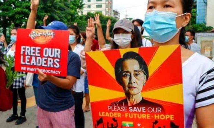 martial law myanmr