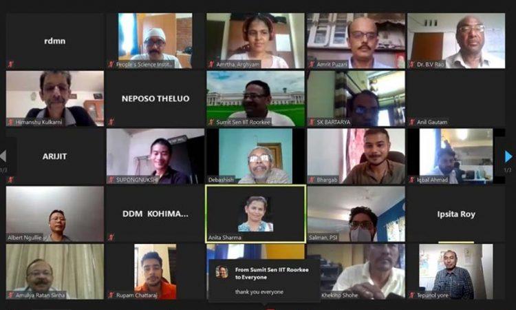 online consultation workshop on Springshed Management