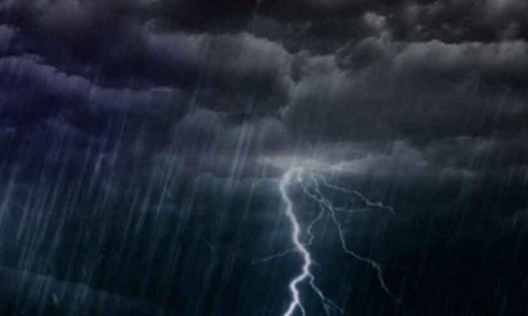 rain thunderstorm