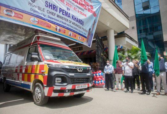 Arunachal ambulance