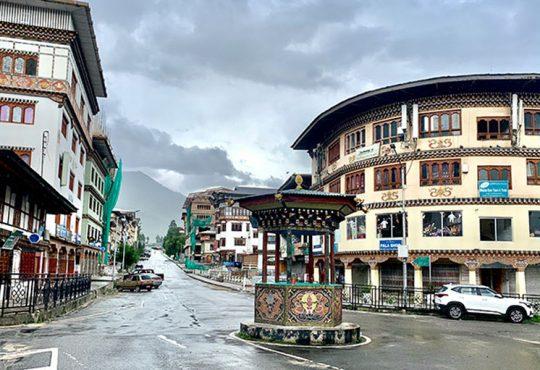 Bhutan lockdown