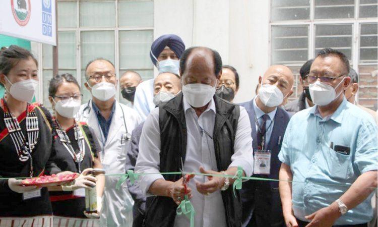CM inaugurates oxygen generation plant at Phek