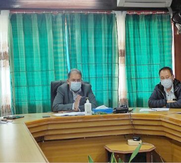Chief Secretary holds video conferencing with DTFs