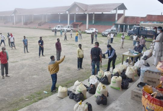 DC Kohima launched relief distribution at Kohima