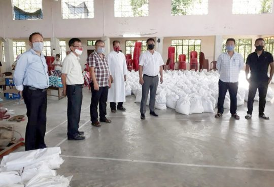 DC Peren launched relief distribution at Jalukie