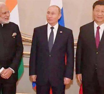 Modi Xi Putin
