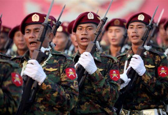 Myanmar junta