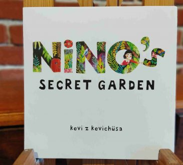 Ninos Secret Garden Book Cover Image for book review piece 1