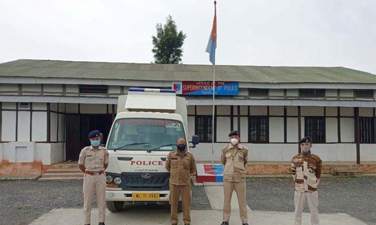 Noklak police ambulance