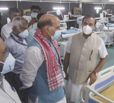Rajnath DRDO hospital