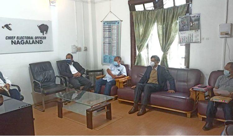 V. Shashank took over as new CEO Nagaland