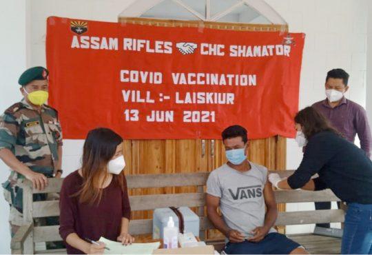 Vaccination drive at Lasikiur